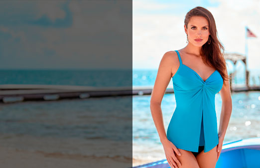 miraclesuit tankini tops