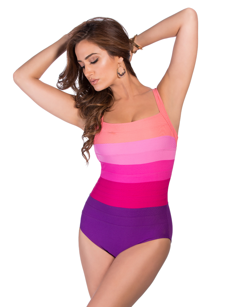 Miraclesuit Spectra Band It Square Neck 364240 Swim